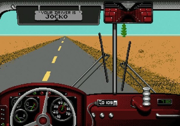 19 - Named by many as the most realistic video game ever made, Desert Bus is a real-time Sega game where the players must drive a bus from Tuscon to Las Vegas, never going faster than 45mph. The bus veers to the right, so the buttons cannot be taped down, and if a player attempts a pee break (s)he will find upon return a tow truck pulling the bus back to the starting line, also in real time. After arriving at the end point after 8 hours, the player receives one point, with the option of making a return journey to Tuscon. The decision must be reached within 15 seconds or the game returns to the start menu.
