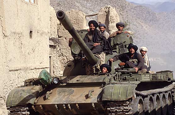 Taliban tank
