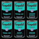 Inverted Warhol Soup