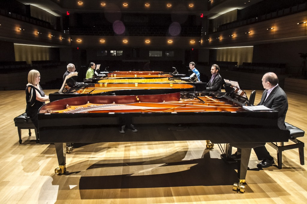 Piano Ecstasy_Christina Petrowska Quilico, Russell Hartenberger, Gregory Oh, Simon Docking, Serouj Kradjian, Jamie Parker