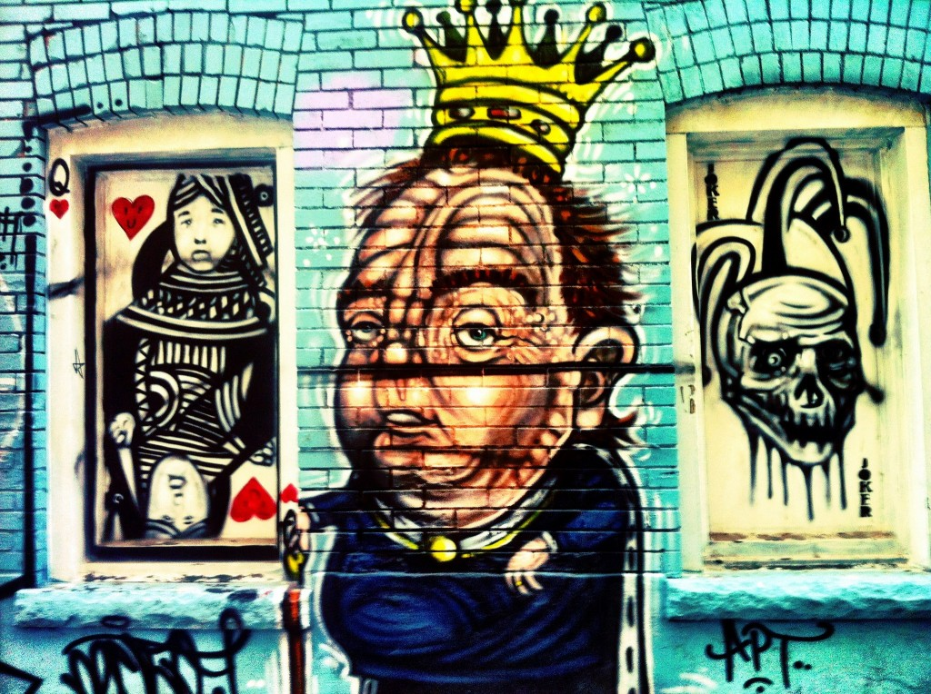 Street Inspired - Queen West Alleys - cards