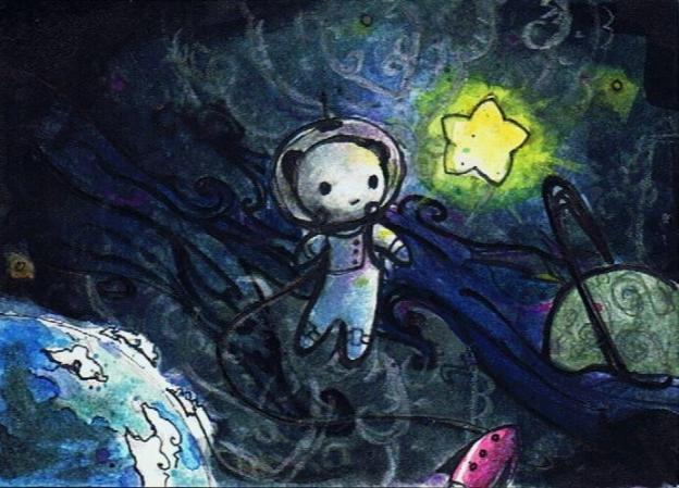 star_bear_in_space_by_pretty_smile-d3go7av